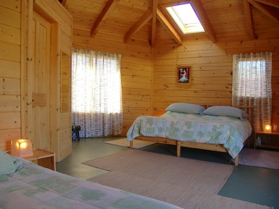 Angel Valley Sedona Retreat Center: The King Bed WithTwin Bed Six sided Cottage.