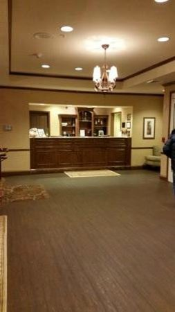Country Inn & Suites By Carlson, Asheville West (Biltmore Estate) : Country Inn & Suites Asheville West: The reception