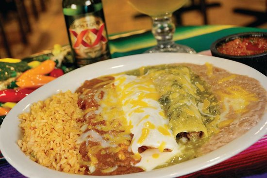 Teds Mexican Restaurant Menu