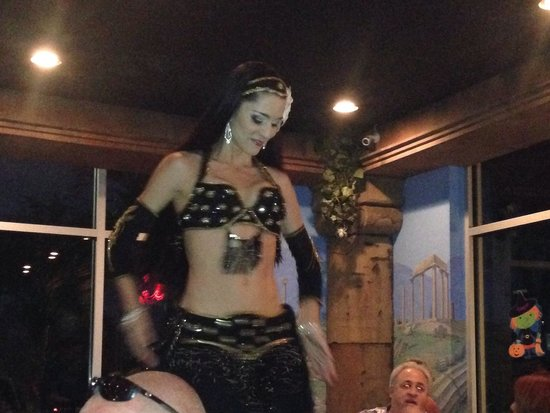 Belly Dancer at Olympic Taverna