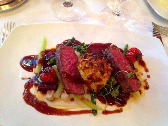 Restaurant Anna Sacher: Ciervo, me encantó