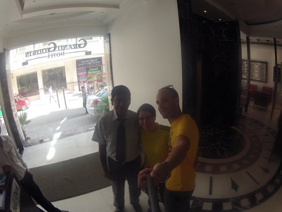Hotel Godwin Deluxe: Foto taken with a GoPro