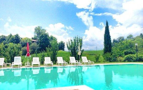 Locanda La Cavallina: la piscina