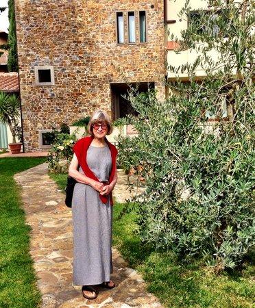 La Compagnia del Chianti : The apartment building in San Donato