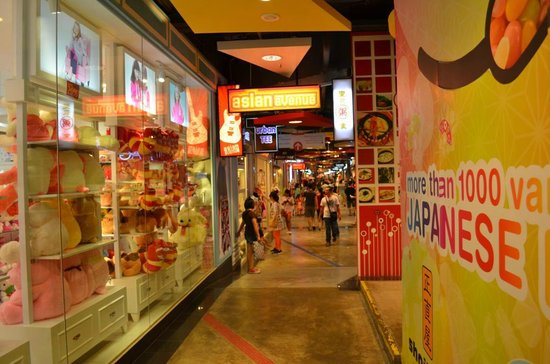 Sunway Pyramid Shopping Mall: Asian Avenue