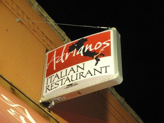 Adriano's Italian Restaurant: Adriano's