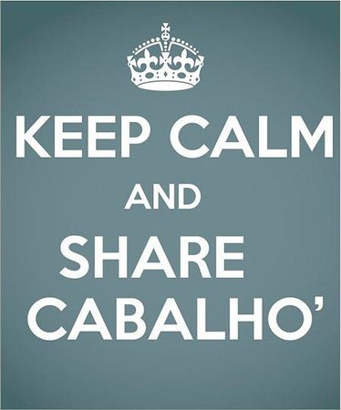 Keep calm foto di cabalho sant 39 arpino tripadvisor for Immagini keep calm