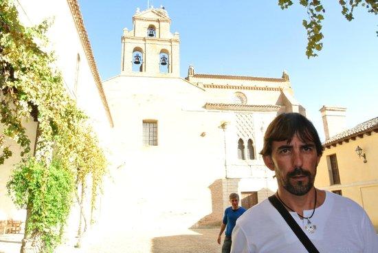 Real Monasterio de Santa Clara : entrada al monasterio