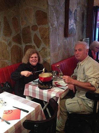 La Taverne Savoyarde: Enjoying Fondu