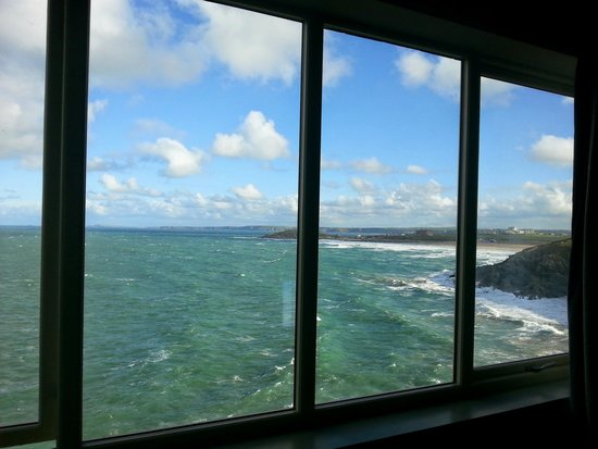 Lewinnick Lodge: The view from room 6