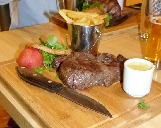 The Rock Garden: It is all about the Meat.  500g
