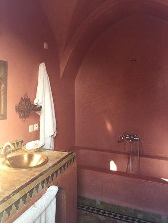 Riad La Rose D'Orient : Une salle de bain