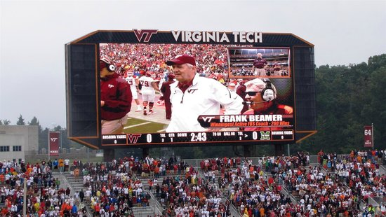 Blacksburg, VA: coach beamer
