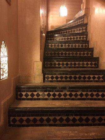 Riad La Rose D'Orient : Les escaliers