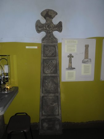 Buxton Museum and Art Gallery: ancient cross