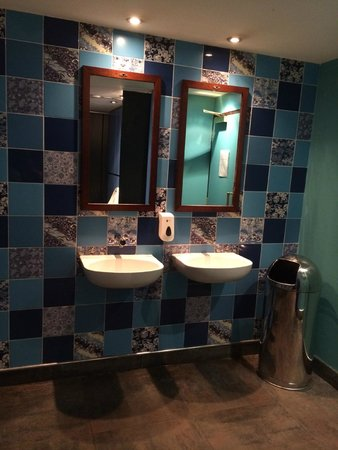 The Water Margin at the O2: Cloakroom