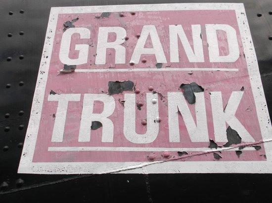 Gorham Historical Society & Railroad Museum: Grand Trunk Logo