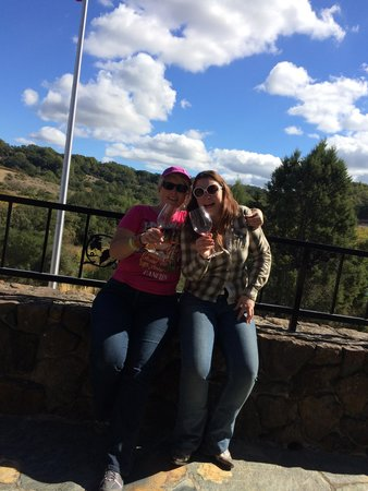 Chalk Hill Winery : We're wine tasting in Sonoma!