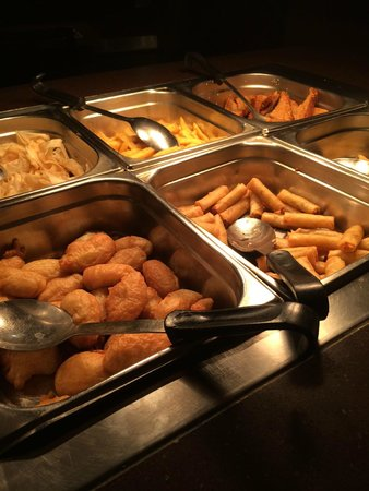 The Water Margin at the O2: Food servery area