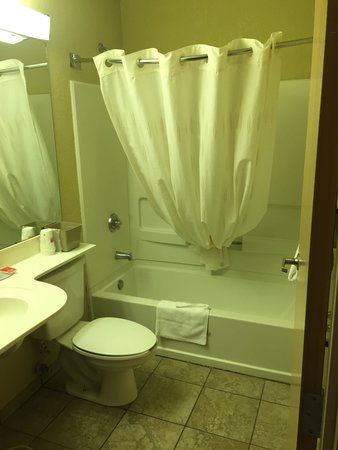 Econo Lodge Inn and Suites: Bathroom 325