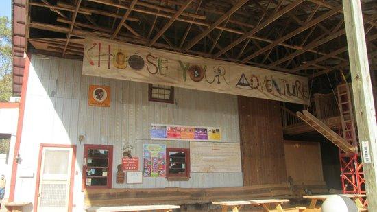 Sunburst Stables Adventure Park: Main Entrance