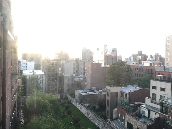 The Bowery Hotel: Room with a lovely view....