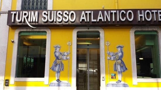 Suico Atlantico Hotel: Fachada do Hotel.