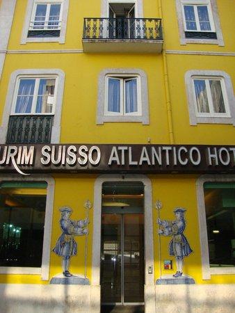 Suico Atlantico Hotel: Frente do Hotel