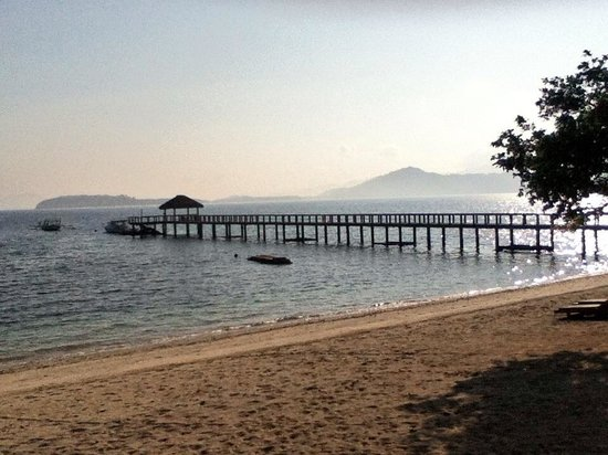 Cocotinos Sekotong, Boutique Beach Resort & Spa: The jeti