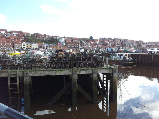 The Board Inn : Nearby Whitby Harbour (Six miles)