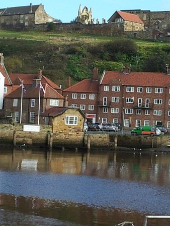 The Board Inn: Whitby Abbey from Harbour
