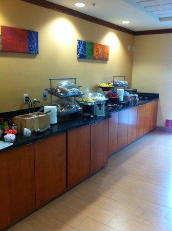Fairfield Inn & Suites Phoenix Midtown: Café da manhã
