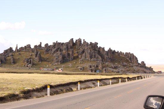 Pasco Region, Peru: Llegando a Huayllay