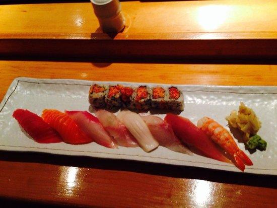Woojung Byob Restaurant & Sushi Bar : Sushi dinner