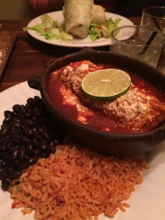 Chicken Enchiladas Picture Of Agave Mexican Grill And