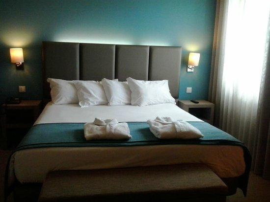 Grande Hotel de Povoa: Quarto vista mar