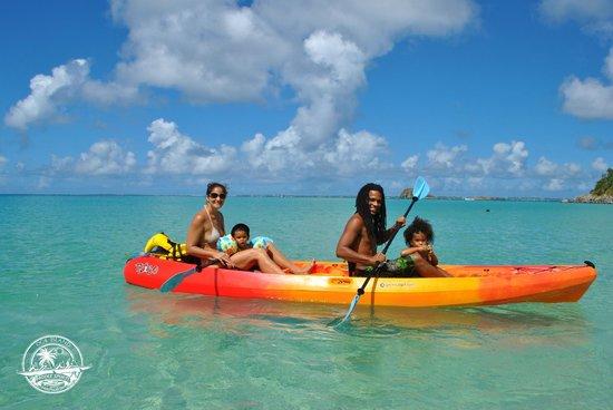 OC4 ISLAND St martin Kayak Paddle Sxm