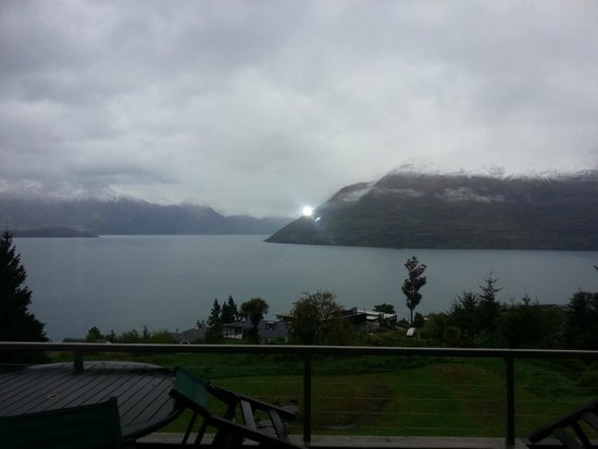 Tanoa Aspen Hotel Queenstown: View from the restaurant