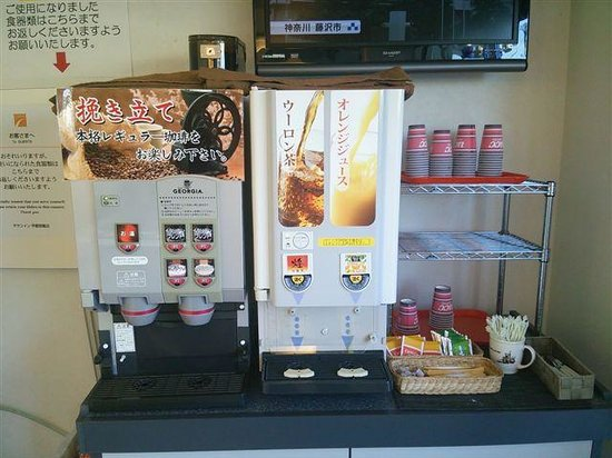 Chisun Inn Utsunomiya Kanuma: 朝食ドリンクバー