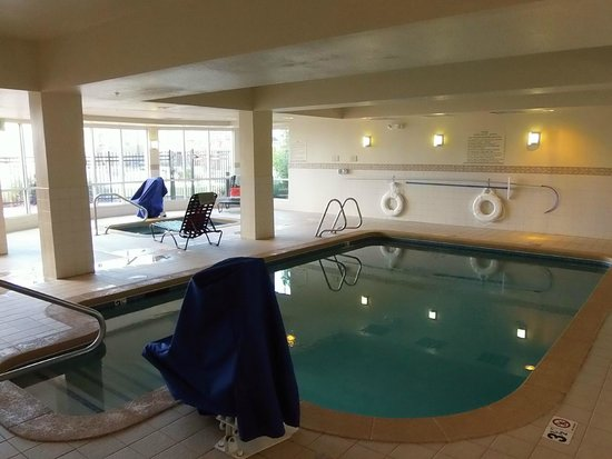 Indoor Pool And Hot Tub Picture Of Hilton Garden Inn Colorado Springs Airport Colorado