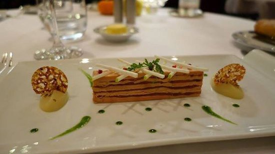 Auberge du Pere Bise : Foie gras à la fera