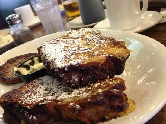 Belle Plaine, MN: French Toast - so rich!
