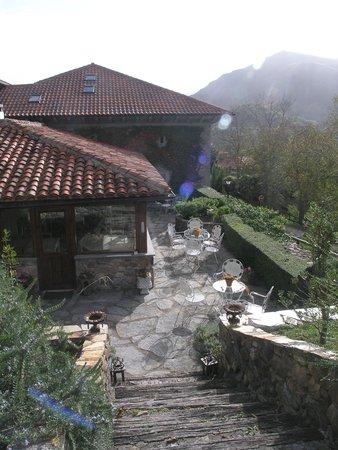 Casona de Quintana: breakfast room