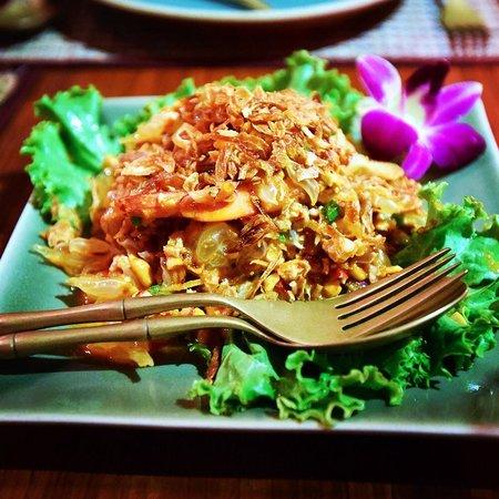 Tongue Thai: Pomelo pork and shrimp salad