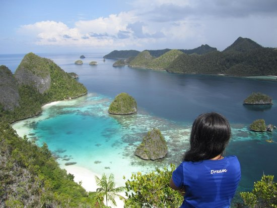 I Love Raja Ampat, really blessed