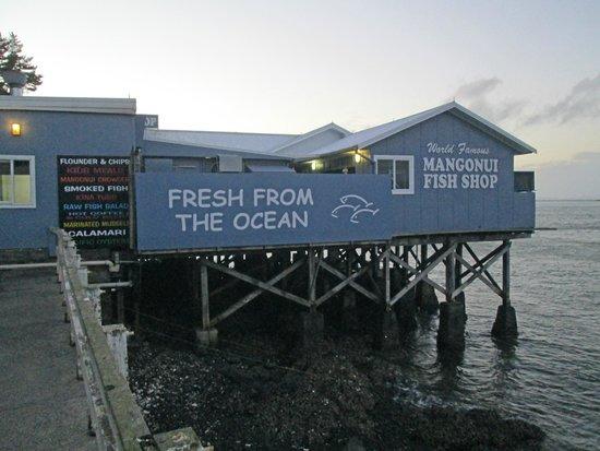 World Famous Fish and Chips: Mangonui Fish Shop