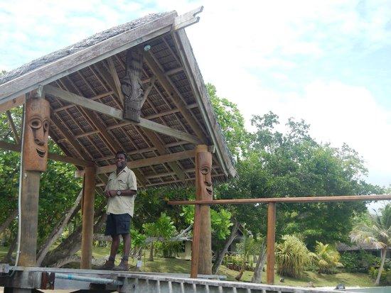 Aore Island Resort : Jetty