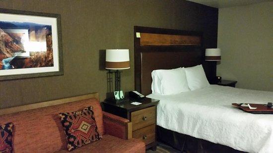 Hampton Inn Jackson Hole: our room