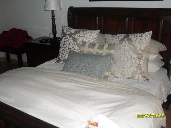Tamboti Lodge: most comfortable bed