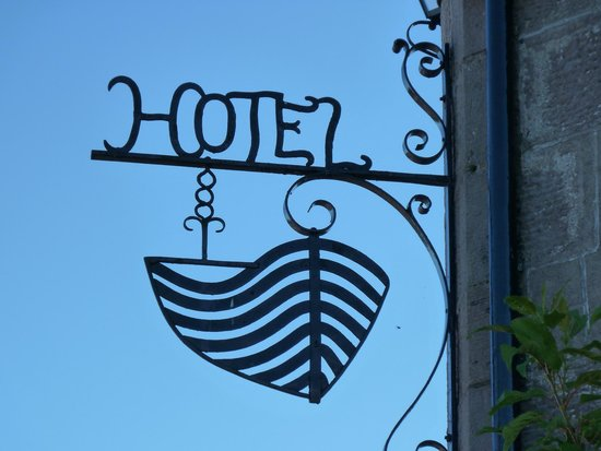The Boat Hotel Bistro : The Boat Sign